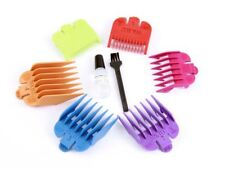 Wahl 6 Coloured Comb Set Numbers 0.5, 1, 1.5, 2, 3, 4 Including Oil & Brush Set