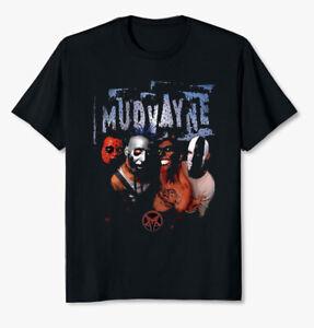 Mudvayne Heavy Metal Band Unisex Black T Shirt Mudvayne Tee Size S-5XL