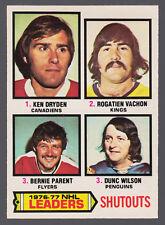 1977 78 OPC O PEE CHEE #8 KEN DRYDEN VACHON BERNIE PARENT NM LEADERS CANADIENS