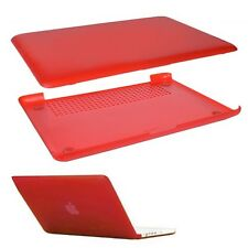 "Incase CL57498 Hardshell Case for White Unibody MacBook 13"" w/Soft-Touch (RED)"