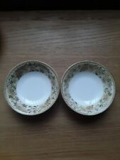 Wedgwood Floral Tapestry Desert Bowls Beautiful Condition.