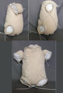 DOE SUEDE BODY -FRONT LEGS LOADING REBORN DOLL BODIES