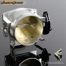 Throttle Body Fit For Gm Gen Iii Ls Ls1 Ls2 Ls3 Ls4 Ls6 Ls7 Sx Cnc Bolt Cable