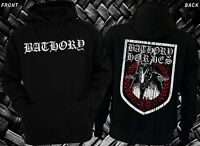 BATHORY -Swedish extreme metal band, Hoodie-sizes:S to XXL