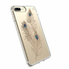 SPECK Presidio CLEAR + PRINT Peacock Gold Case for iPhone 7 - NEW IN BOX!!