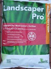 Landscaper Weed & Control Rasendünger mit Unkrautvernichter 2*10 Kilo 1000m²