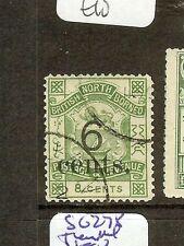 NORTH BORNEO (P0601B) 6C/8C  LION,  CREST  SG55      VFU