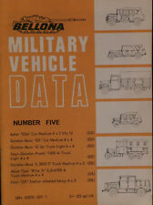 BELLONA Military Vehicle DATA No.5, German Soft-Skinned Vehicles.Great Deal!!!