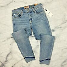 7 For All Mankind Stagger Hem Jeans Size 28 Womens AU8527120 Luxe Ankle Skinny