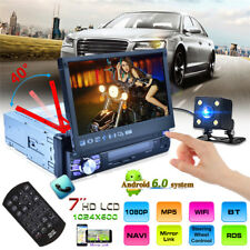 "7 ""1DIN Android 6.0 Four Core GPS 3G WIFI HD Screen Car Radio MP5 Player"