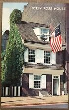 """Vintage Philadelphia The Quaker City Betsy Ross House """"Old Glory"""" Was Born"""