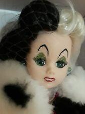 "Madame Alexander Doll 71690 Cruella Deville 10"" Villains Collection $219  NIB"
