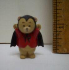 Bear Dressed as bat   Merry  Miniatures 1992 Halloween