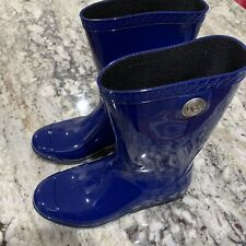 9I1-65 Ugg Women's Sienna Waterproof Rain Boots BLUE  1014452, Size 6 Brand New