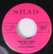 Hear! Novelty Teen 45 Carole Bennett - Ting Me A Tong (Sing Me A Song) / Step By