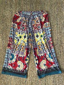 TS Taking SHAPE Sz 22 XL BOHO Stretch PATTERN Plus SIZE Pants