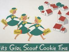 Girl Scout Cookies # 11 - 8 x 10 Tee Shirt Iron On Transfer Cookie Time