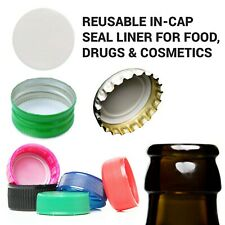 "Bottle Cap Liner 28 Mm: 100pcs .020"" Thick - Foam Polyethylene Pressure Sensi."