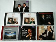 Chopin: Lot of 7 CDs: Solo piano, concertos, & violin transcription - See list!