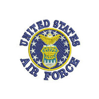 USAF US AIR FORCE Embroidered Polo Shirt