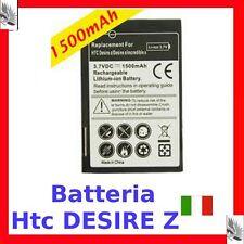 """Nuova BATTERIA per HTC DESIRE Z """" 1500MAH """"  Ricambi"""