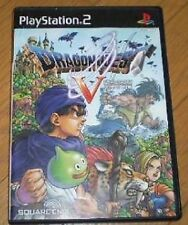 PS2 Dragon Quest 5 V Tenku no Hanayome ENIX Japan