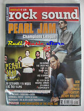 rivista ROCK SOUND 55/2002 +CD Pearl Jam +POSTER Stone Sour Queens Of The Stone