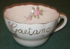 """Ceramiche/Terracotta/Tazza  """" HUTSCHENREUTHER """" Dipinta  A Mano/Germany 1814"""