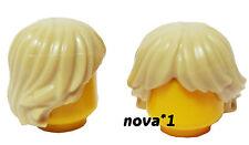 LEGO arruffate Tan capelli Maschio Boy Uomo per Mini figura Nuovo