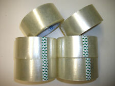 Clear TAPE PACKAGING PACKING SEALING MOVING 50 Rolls 1.88 inch X 78.7 Yard
