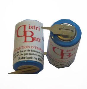 ER14250T2 - Piles Lithium 3.6 Volts 1200 mAh
