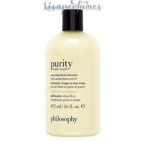 Philosophy Purity Made Simple One-Step Facial Cleanser 16oz / 472ml NIB
