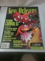Vintage HOLIDAY Travel Magazine Feb 1948 feat New Orleans/ Lots of MCM Ads/Cars