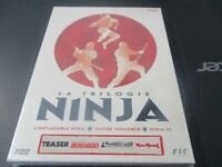 "COFFRET 3 DVD NF ""L'IMPLACABLE NINJA / ULTIME VIOLENCE / NINJA III"" Franco NERO"