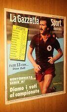LA GAZZETTA DELLO SPORT ILLUSTRATA-ANNO 5 #  3 - 17 GENNAIO 1981-ROBERTO PRUZZO