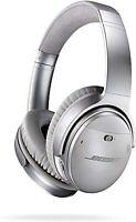 Bose QuietComfort 35 QC35 kabellose Kopfhörer schwarz Bluetooth Headset Silber