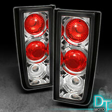 03-09 Hummer H2 Suv Clear Chrome Altezza Rear Tail Lights Brake Lamps Left+Right