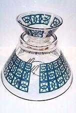 """Vintage Chip/Dip Set """"Hand-Painted Multi colors & Blue"""