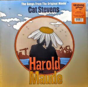 """CAT STEVENS HAROLD AND MAUDE - 180 GRAM ORANGE VINYL LP """" NEW, SEALED """" RSD 2021"""