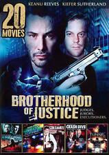 20 Movies: Brotherhood of Justice (DVD, 2014, 4-Disc Set) MINT!