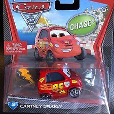 DISNEY PIXAR CARS MODELLINI: CARTNEY BRAKIN CHASE