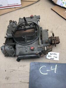 HOLLEY HD TRUCK VAN BUS HOT RAT ROD 4 BBL BARREL CARB CARBURETOR 366 454 427 C60