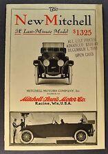 1916 Mitchell Catalog Sales Brochure Excellent Original 16