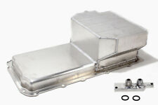 """Aluminum Fabricated SBC T6 Oil Pan 6.5"""" Deep LS1 to LS6 with Oil Filter Adapter"""