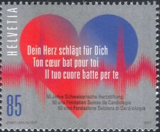 Switzerland 2017 Swiss Heart Foundation/Medical/Health/Blood/Welfare 1v (ch1002)