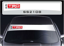 SS2108 Toyota TRD sun strip graphics stickers decals sunstrip Yaris Hilux MR2