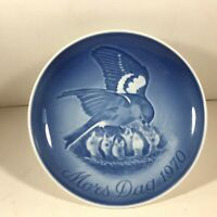 BING GRONDAHL Mothers Day Plate 1970 Sparrow