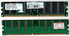 RAM DDR - BIT4RAM 2 x 256 MB ( 512 MB) PC3200 DDR 400 MHZ 184 pin Dual Channel