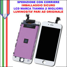 Schermo Display LCD Touch Apple Iphone 6 PLUS BIANCO Originale A1522 A1524 A1593