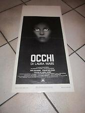 OCCHI DI LAURA MARS,F. DUNAWAY,,LOCANDINA 1 EDIZIONE